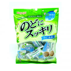 Bala Japonesa de Leite Refrescante para Garganta Nodo ni Sukkiri Kasugai - 119 gramas