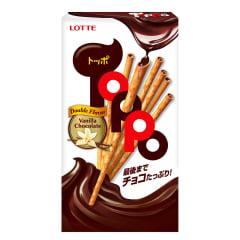 Biscoito Palito Japonês ToPPo Chocolate e Baunilha - 40g