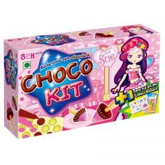 Biscoito para Montar Chocokit Sabor Morango e Chocolate Haitai - 42 gramas