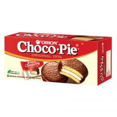 Bolinho de Chocolate Choco Pie Orion 180 Gramas - 6 unidades