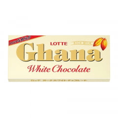 Chocolate  Branco Japonês Ghana Lotte – 45 gramas