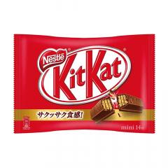 Chocolate Japonês KitKat Mini 14 unidades – 162,4 gramas