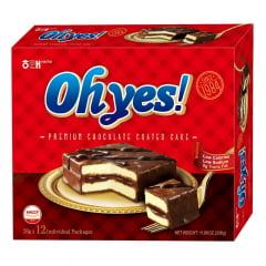 Torta de Chocolate Premium Ohyes Haitai 336g - 12 unidades