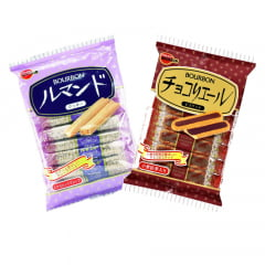 Kit Biscoitos Japonês Bourbon - 2 Sabores