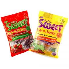 kit de Balas de Alga Marinha Sweet Jelly Frutas - 2 Pacotes