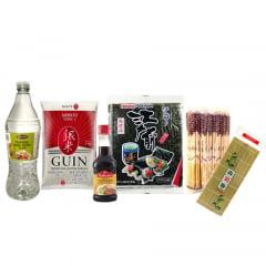 Kit para Preparo de Sushi - 6 Itens