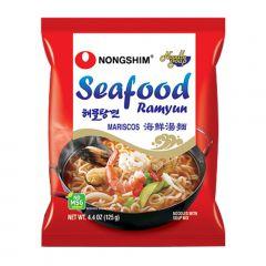 Lamen Coreano Seafood Sabor Picante e Frutos do Mar 100g