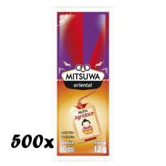 Molho Agridoce para Rolinho Primavera (Harumaki) Mitsuwa Sachê 10 mL - 500 Unidades