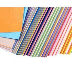 Papel de Origami 40 Cores - 120 unidades