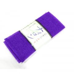 Toalha de banho Esponja de Plástico Roxa - Bucha
