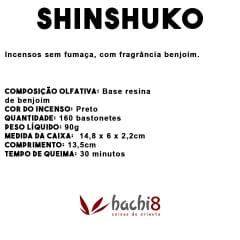 Incenso Senkô Shinshuko Sem Fumaça