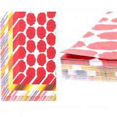 Papel de Origami Flores - 100 unidades