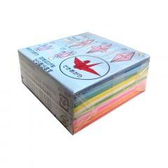 Papel de Origami Pequeno Multicores - 272 unidades