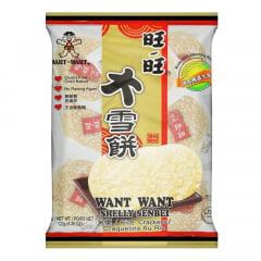 Biscoito de Arroz Shelly Sembei Want Want - 122 gramas