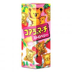Biscoito Koala com Recheio de Morango Lotte - 37 gramas
