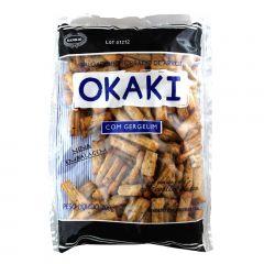 Salgadinho de Arroz Torrado Okaki com Gergelim - 200 gramas