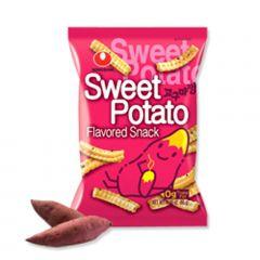 Salgadinho Coreano Batata Doce Sweet Potato Snack - 55 gramas