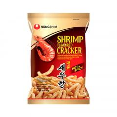 Salgadinho Coreano Camarão Picante - Shrimp Flavoured Cracker 75 gramas