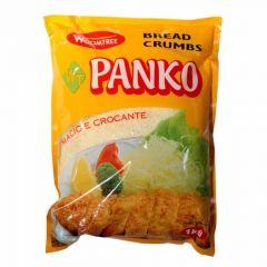 Farinha para Empanar Panko Bread Crumps Woomtree - 1Kg