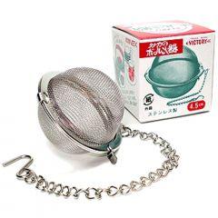 Infusor de Chá e Especiarias Aço Inox - 8,5cm