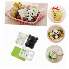 Forma para Onigiri formato Molde Panda - Bolinho de Arroz