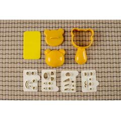 Forma para Sushi Oniguiri Molde Cabeça Bichinhos - Bolinho de Arroz