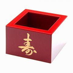 Copo Quadrado para Servir Sake Massu Grande - Vinho
