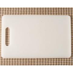 Tábua Profissional Branca para Cortar Alimentos - 37x23x1cm