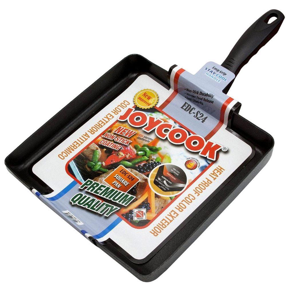 Frigideira JoyCook  Antiaderente Tamagoyaki  Makiyakinabe Quadrada EDC S24 - 24x24cm